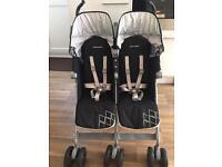 Maclaren twin techno double stroller pushchair