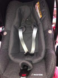 Maxi cosi pebble plus car seat sparkling grey