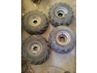 Quad Bike or Trailer Wheels & Tyres