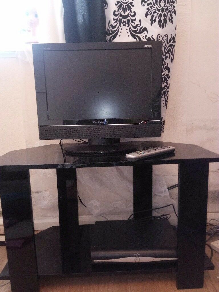 Good working LCD TV and it's stand