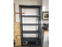 3 off Dexion shelving in great condition as image.