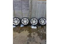 """BMW 20"""" wheels and matching tyres"""