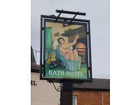 Bath Hotel, Dewsbury, management couple required