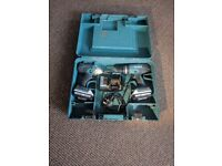 MAKITA 1.3AH LI-ION COMBI DRILL & IMPACT DRIVER TWIN PACK, 2 BATTERIES, CHARGER AND CARRYING CASE