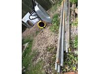 X10 Scaffold poles all 10ft