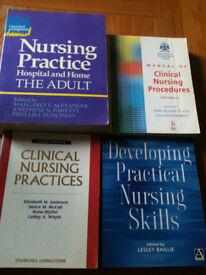 Nursing books x4