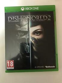 Dishonoured 2 - Xbox one