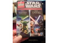 Lego Star Wars The Padawan Menace & The Empire Strikes Out - 2 Disc DVD