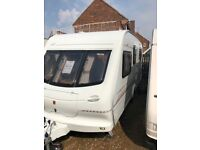 Elddis gt cyclone 1999 5 berth with motor mover