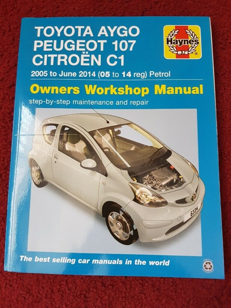 Haynes Manualin Highbridge, Somerset - Brand new user manual for Peugeot  107 Citroen C1 Toyota