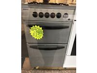 BEKO 50CM ALL GAS COOKER IN SILIVER