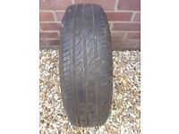 Tyre with wheel 175/70R13