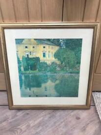 REDUCED Framed Klimt Style Painting
