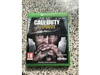 Call of duty WW11 Xbox one game
