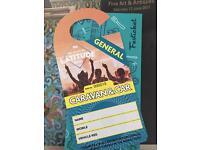 Latitude caravan & car weekend ticket