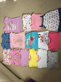 9-12 month Girls T-shirt bundle