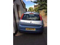 Fiat Punto Dynamic 2006 79350 Mileage 5 Doors Light Blue