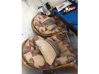 Wicker style furniture
