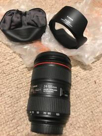 Canon 24-105 mk2 newest version may px 24-70