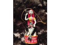 SALLY DISNEY NIGHTMARE BEFORE CHRISTMAST HANGING ORNAMENT TREE TOPPER BRAND NEW