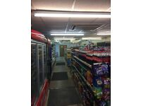 Retail shop grocery off license