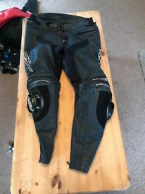 Rst track tech evo 2 leather trousers