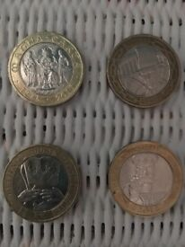 £2 Coins Collectables