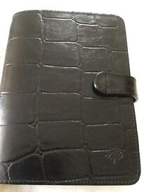 Genuine Mulberry leather Filofax - new and still in original packing
