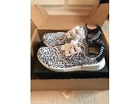 Adidas NMD_R1 'Zebra White' UK8
