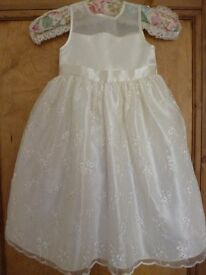 Organza embroidered Bridesmaid/party Dress by Cinderella. Age 5 - shipley