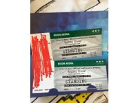 2 Standing tickets for Rolling Stones (2 June) at Ricoh Coventry