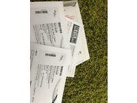 2 Sam smith tickets 4th April (Birmingham)