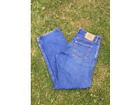 """Levi's jeans size: 34""""W - 32""""L"""