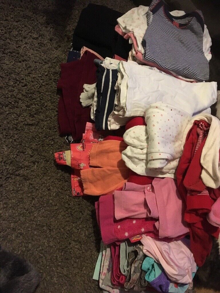 Clothes, Shoes & Accessories Helpful 12 To 18 Months Girls Bundle 10 Items