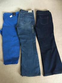Brand new size 18 short trousers