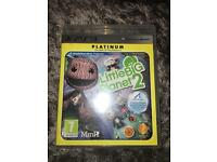 PS3 little big planet 2 game