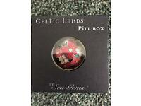 Celtic Lands by Sea Gems Pill Box- New