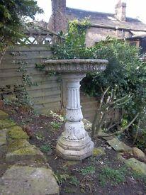 Beautiful Ornamental Stone Bird Bath