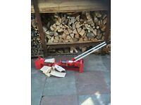 10 tone log splitter manual
