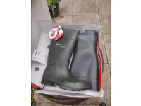 Purofort Professional Full Safety Wellingtons Farmer Wellies