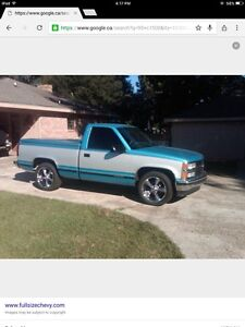 Looking for chevy truck projects