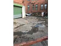 Large unit and yard to let on Cobden st Salford ideal work shop or garage