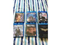 8 Blu Ray Collection