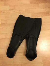Scuba Diving / Snorkelling Flippers, Size 11 1/2 - 12 1/2