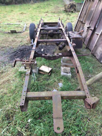 Leyland FG chassis - Single wheel