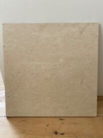 Fired earth limestone tiles square x 38