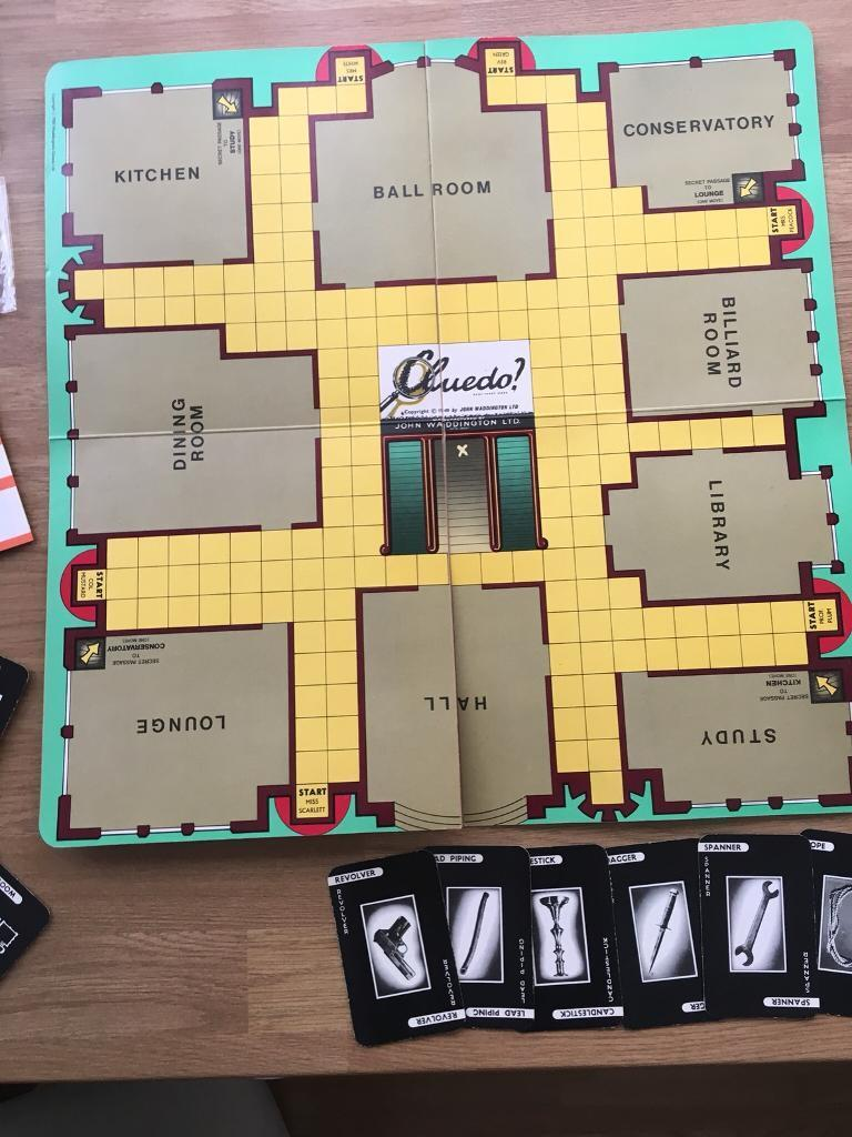 Image result for cluedo 1980s