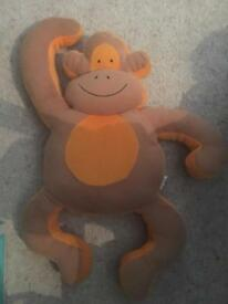 Monkey shaped pillow