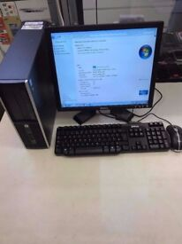 HP Compaq 6005 Pro Windows 7 PC tower £80 good condition, good offer collect now!