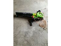 Leaf blower as new